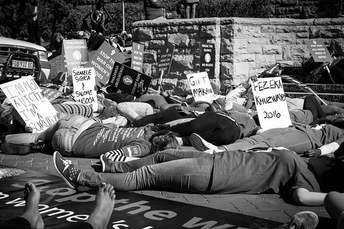 Silent Protest: Grahamstown, South Africa