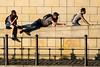 Late Summer (/Holger Blaskowski) Tags: berlin dreipersonen liegend sitzend radfahrer streifen regierungsviertel