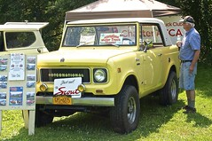 1967 International Scout Sport Top (pecooper98362) Tags: owego newyork hickoriespark antiquecarshow tiogaregionaaca antiqueautomobileclubofamerica 1967 international internationalharvester scout sporttop internationalmotortruckchapter offroadfun