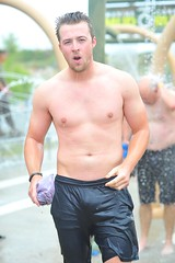 Nathan Schafer (Chris Hunkeler) Tags: shirtless male man athlete wet marinecorpsmudrun bare bib7177 nathanschafer schafer 10k age22 2024male