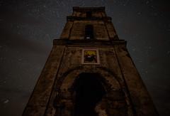 The Icon (free3yourmind) Tags: icon religion church orthodox catholic night sky star belarus architecture old abandoned беларусь белая царква