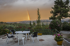 SPANISH RAINBOW (Des Hawley,) Tags: deshawley ronda rainbow thegalaxyhalloffame andalusia over1000views
