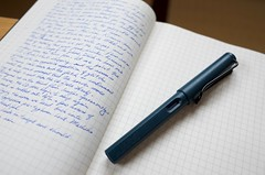 journal (troutfactory) Tags: lamy fountainpen journal 万年筆 日記