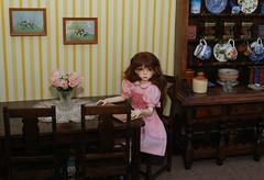WIP roomset (Little little mouse) Tags: dt7 dollstown ganga dollfie megan bjd roomset dollfurniture ebaybargain wip