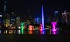 Lake Symphony (Theo Crazzolara) Tags: lakesymphony colorful water fountain petronastowers menara kuala lumpur malaysia asia malaysien asien night light nacht