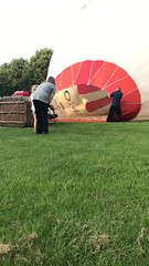 170807 - Opstijgen ballonvaart Veendam Nieuw Buinen PH-SIB