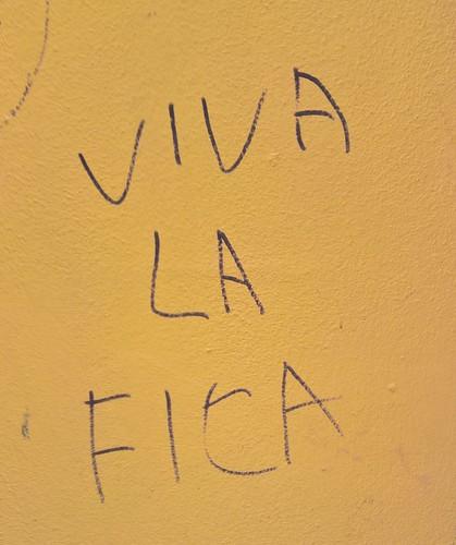 """Viva la fica"" Bolzano 2017"
