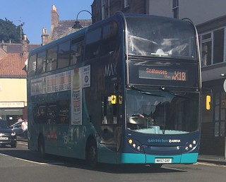 Arriva North East 7513 NK57 GXF