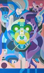 Tribo Dropas (chamarelli) Tags: dropas ufo chamarelli ovni contemporaryart brazilart canvas acrilique painting art arte pintura