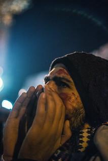 Manifestation de soutien aux victimes d'Alep