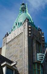 Amsterdam (Charlie Fossika) Tags: building day amsterdam cinema gothamcity