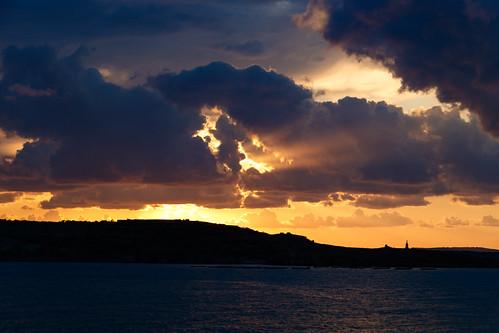 Закат на Мальте
