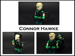 Connor Hawke (MrKjito) Tags: lego minifigure connor hawke green arrow oliver queen son super hero comics comic dc bow arrows