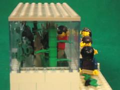 Lego Harry Potter Reptile House (Stimpy's Stud Service (Lego creations)) Tags: lego harry potter reptile house vernon dudley petunia dursley snake magic python london zoo burma