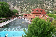 Hot Springs Pool and Historic 1888 Bath House (Patricia Henschen) Tags: glenwoodspringscolorado colorado glenwoodsprings glenwoodhotsprings pool hotsprings swimming spa historic bathhouse 1888