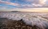Cloud Rock Wave (Panorama Paul) Tags: paulbruinsphotography wwwpaulbruinscoza southafrica westerncape capetown tablemountain blaauwbergbeach waves beach sunset nikond800 nikkorlenses nikfilters