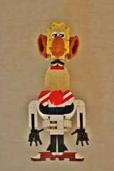 Agent 00X (Ildar-Zakhar) Tags: lego moc figure cartoon character приключениякапитанаврунгеля agent 00x черкасский turkey