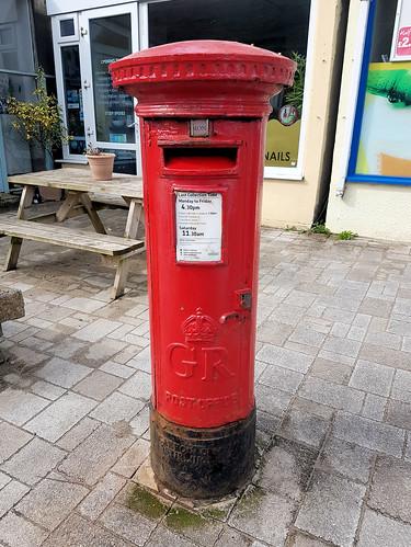 Porthtowan GvR Pillar Box