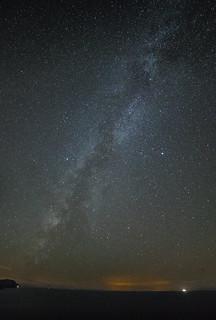 Vía Láctea desde Banyalbufar