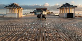 Early Morning At Cromer Pier Norfolk.