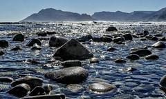 All That Glitters..is not gold (david.gill12) Tags: seascape rocks glitter starbursts