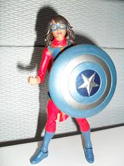That Shield Means a Lot to People (zaramcaspurren) Tags: kamalakhan msmarvel captainamerica marvel marvellegends marvelcomics hasbro actionfigure