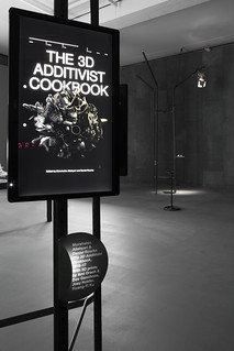 The 3D Additivist Cookbook by Morehshin Allahyari and Daniel Rourke at the exhibition