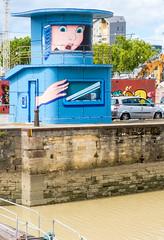 Lock Gate House, Bordeaux FR (vern Ri) Tags: street fuji art cartoon