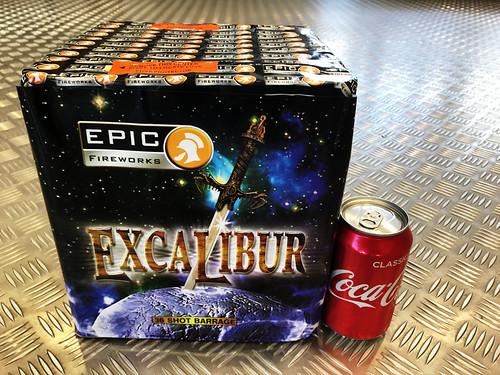 Excalibur 36 Shot 1.3g Firework Cake #EpicFireworks
