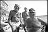 (The Boys of Summer 2017) (Robbie McIntosh) Tags: leicamp leica mp rangefinder streetphotography 35mm film pellicola analog analogue negative leicam analogico blackandwhite bw biancoenero bn monochrome argentique dyi selfdeveloped filmisnotdead autaut candid strangers leicaelmarit28mmf28iii elmarit28mmf28iii elmarit 28mm bathers sea seaside tan fujineopanacros100 fujineopanacros fuji neopan acros ilfordilfoteclc29 ilfoteclc29 lc29 summer summertime men pose portrait tattoo belly speedo