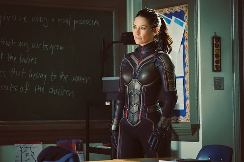 First REAL Look at the Wasp Suit!