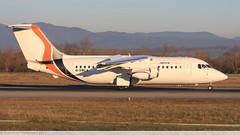 BAe 146 -200 JOTA AVIATION G-SMLA E2047 Mulhouse décembre 2015 (Thibaud.S.Photographie) Tags: bae 146 200 jota aviation gsmla e2047 mulhouse décembre 2015