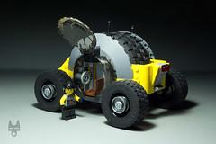VW Kübelkäfer (Robiwan_Kenobi) Tags: robiwankenobi lego scifi vw offroad futuristic crazy car