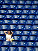 Girl fixing her ponytail in the USTA GrandStand (S T Chan) Tags: usopen tennis 2017 qualifiers qualifying tournament day1 new york nyc queens flushing meadows usta nationaltenniscenter sports grandstand spectator seats
