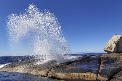 Bicheno Blowhole - Very Impressive!! by sbittinger, on Flickr