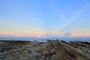 IMG_0319 (Ethene Lin) Tags: 小野柳 海 太平洋 岩層 岩石 藍天 白雲 晚霞 霞光 海浪 綠島