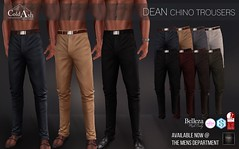 OUT NOW! COLD ASH - DEAN CHINOS @ TMD SEPTEMBER (coldashsl) Tags: sl menswear mens mesh clothing fashion male shop coldash cold ash tmd department project themeshproject slink physique signature gianni fittedmesh fitmesh top muscle tee belleza jake