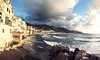 Cefalu Restaurant View (frasse21) Tags: cefalù sicily europe sunset travel italy cloudy