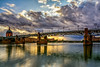 Pont de Saint Pierre (J_Guirado) Tags: garona puente bridge toulouse sunrise clouds nubols nubes