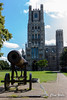 Cannon and Cathedral (wells117) Tags: 2017 august2017 elycathedral anglican anglicancathedral aug august building cathedral clivewells ely tower westtower worship