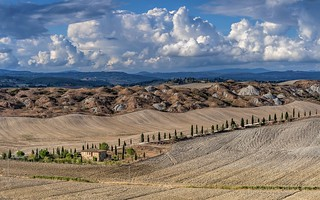 *Crete Senesi @ September Light*