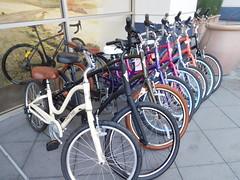 September 11: Outside the Bike Store