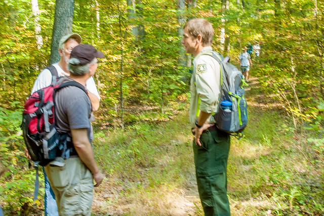 Hoosier National Forest - Hike with Supervisor Mike Chaveas - September 16, 2017