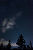 Trees Clouds and Stars (jamesishoward) Tags: tahoe secretbeach