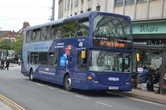 NCT Scania N270UD 975 YT59OZR - Nottingham (dwb transport photos) Tags: nct nottinghamcityline scania omnidekka bus decker 975 yt59ozr nottingham