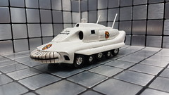 Colonel Whites' SPV. (ManOfYorkshire) Tags: colwhite colonewhite spectrum commander spv spectrumpersuitvehicle captainscarlet tv series scifi sciencefiction white named dinky toy model diecast hq ground base cloudbase supermarionation puppet