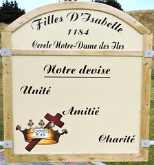 Daughters of Isabella (Will S.) Tags: canada mypics îlesdelamadeleine havreauxmaisons québec knightsofcolumbus chevaliersdecolomb kofc cdec catholic romancatholic fraternal service organization cross magdalenislands