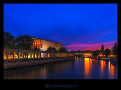 Berlin at night (Rukiber) Tags: berlin museumsinsel city sonnenuntergang sunset spree deutschland germany nikon nacht nachtaufnahme d750 blaue stunde