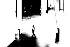 Museum b/w - (keinidyll) Tags: bw abstract ps museum