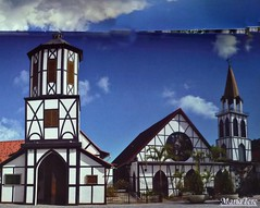 Iglesia de San Martín de Tours (Colonia Tovar) (MariaTere-7) Tags: iglesia san martin de tours colonia tovar venezuela mariatere7 aragua